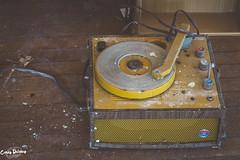 DSC_0490 (Passionate Perspective Photography) Tags: school rox abandoned passionate perspective photography conceptual fine art girl desk piano record player 20th century