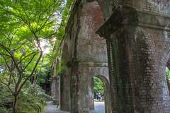 Nanzenji Suirokaku (Hiro_A) Tags: kyoto japan structure landmark nanzenji temple suirokaku waterway historical old red brick nikon d7200 1770mm 1770 sigma