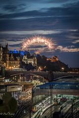 Tattoo Fireworks (Paul S Ewing) Tags: edinburghcastle fireworks edinburghmilitarytattoo cityscape scotland uk