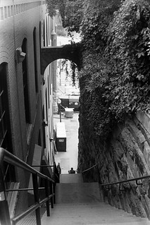 Down the Exorcist Steps