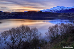 0S1A3011enthuse (Steve Daggar) Tags: newzealand sunset lake lakehayes winter mountains snowcappedmountains