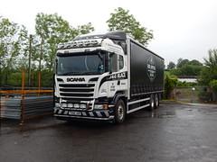 T200 JGB - J&G Black Haulage Contractors Ltd Bathgate (Jonny1312) Tags: lorry scania bathgate fishfarm kilrea londonderry portna