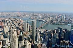 New York, View of the Bridges (ssspnnn) Tags: newyork wtcone manzana bigapple spnunes snunes spereiranunes canoneos70d usa nunes skyscraper edificios rascacielos cidade city cita ciudad