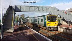 2818+2817 depart Ennis, 22/10/16 (hurricanemk1c) Tags: railways railway train trains irish rail irishrail iarnrd ireann iarnrdireann 2016 class2800 commuter tokyucarcorp 2818 ennis 1420limerickgalway
