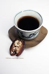 companion (Iceler) Tags: tea antiquepuerhtea dates walnut oldteacup teacoaster canonnikon