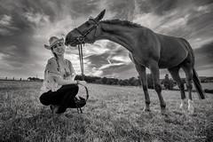 Krmel the Horse B/W , EOS 80D, EF-S 10-18 4,5-5,6 IS STM (hundephotografie) Tags: horse pferd uww eos80defs10184556isstm canon animals blackwhite