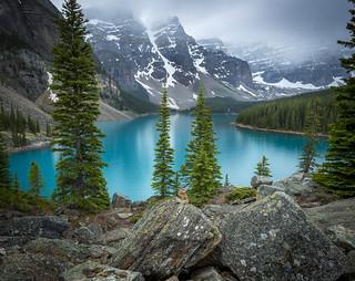 Banff Canada - Lake Moraine