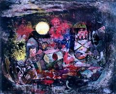 IMG_8268I Hans Reichel. 1892-1958.  Le jardin chaotique. The Chaotic Garden. 1928.   Colmar. Unterlinden. (jean louis mazieres) Tags: peintres peintures painting muse museum museo france colmar museunterlinden hansreichel