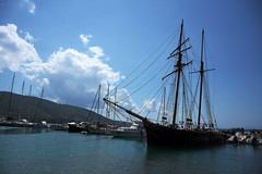 Jedrenjak (Vojinovic_Marko) Tags: sailingship ship jedrenjak greece grka plataria jonskomore ioniansea nikon d7200  hellas  dock sailingvessel epirus