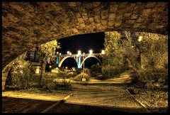Ponts, Alcoi (jordi_nll) Tags: longexposure distinguished long exposure nubes nit noche nocturna cielo cel estrellas beniarrs lightpainting sky night stars startrails fantstic