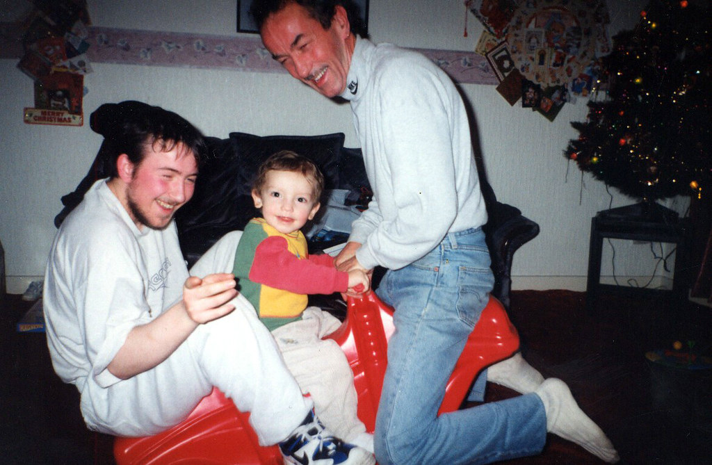 Darren, Marcus and Jim Ward 1995