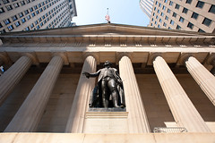 Shutterstock - NYC - History of Finance Federal Hall (Context Travel) Tags: new york city history finance wall street architecture shutterstock