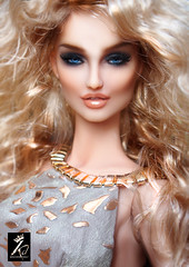 Nimue up-close (kingdomdoll) Tags: face beauty nimue kingdomdoll kingdom doll resinfashiondoll glamour style