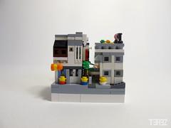 Microscale (trz_terez) Tags: microscale terez lego trz miniatures maquette diorama wip