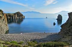 Paradise lost (...until next summer) (vittorio vida) Tags: beach sea seaside ocean mediterranean sicily italy lipari eolie islands beaches blue quiet travel holidays summer