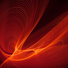 Ravel? (Certainly not Shostakovich!) (Reflectory Images) Tags: reflectory abstract minimal abstraction minimalism nonobjective lines curves patterns orange yellow cameramotion led square swirls lights