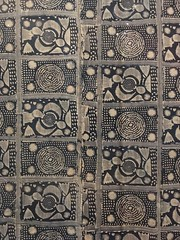 Yoruba Adire Wrapper (Rachel Strohm) Tags: philadelphiamuseumofart africa africanart creativeafrica yoruba adire wrapper cloth waxprint kitenge nigeria