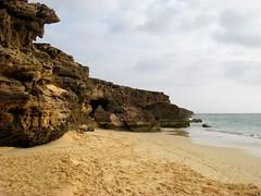 caves on the beach (° cris ° (searching for testimonials :)) Tags: ocean africa summer holiday beach island rocks cave vacanza caboverde grotta oceano isola boavista capoverde supershot abigfave flickraward absolutelystunningscapes flickraward5 flickrtravelaward
