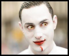 Hannibal (k.jessen) Tags: brazil white branco brasil blood saopaulo zombie sopaulo brains hannibal sangue zumbi zombiewalk zombiewalksp miolos zombiewalksp2014