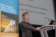 Promoció 13/14.  Director EPSEVG, Frederic Vilà