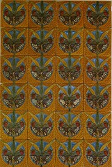 Butterfly and ears of corn ( c. 1905) Rafael Bordalo Pinheiro  (1846-1905)