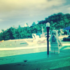 I'm on a boat (ivillaseran) Tags: beach toys lego fig wizard lotr squareformat minifig saturdaynightlive thehobbit snl saruman thelordoftherings whitewizard iphoneography iphoneonly instagram
