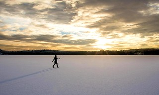 Walking on the Lake