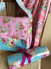 Baby Set (sewfunbymonique) Tags: blanket circa diaperbag minky changingpad jenniferpaganelli tanyawhelan