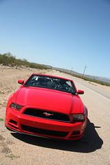 Nevada 2014 (Gilles LEFEUVRE) Tags: road summer usa car grandcanyon nevada roadtrip mustang redcar 2014 cayon etatsunis decapotable 5dmarkii 5dmark2