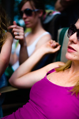 _MG_3971-272 (k.a. gilbert) Tags: party sunglasses outside outdoors breasts tits boobs mother naturallight kristen wife handheld kelly fullframe cleavage milf manualfocus wideopen downblouse manualaperture rokinon85mmf14 canon5dc mallonshouse