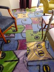 Carpet (stevenbrandist) Tags: holland carpet hotel rotterdam thenetherlands wacky arthotelrotterdam
