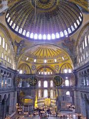 Hagia Sophia, Istanbul, Turkey, 2012 (.JL.) Tags: turkey istanbul jackson 2012 loi istanbulprovince jacksonloi 2012jacksonloijackson loiistanbulturkeyhandheld