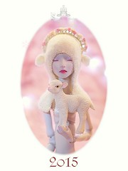Merry Christmas and Happy New Year 2015! (Shirrstone Shelter dolls) Tags: christmas new happy doll year bjd merry shelter porcelain 2015 shirrstone sssdolls