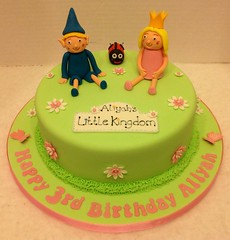 Ben & Holly Birthday Cake (LizzieQ Creations) Tags: birthday cake ben holly