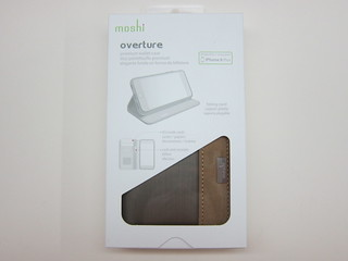 Moshi Overture - Folio-style Wallet Case for iPhone 6 Plus