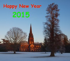 Happy New Year 2015 (petermit2) Tags: nt newyear nationaltrust nottinghamshire happynewyear clumber 2015 clumberpark happynewyear2015