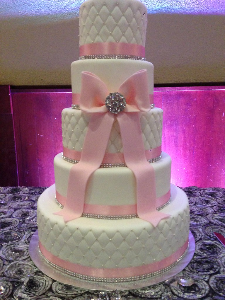 Cake Pictures For Quinceaneras : Pink Quinceanera Cake www.imgkid.com - The Image Kid Has It!