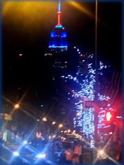 Manhattan Lights Dec 27 2014 (ScottElliottSmithson) Tags: newyorkcity blue light newyork skyline night lights manhattan unionsquare scottsmithson scottelliottsmithson