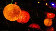 Christmas Lights (Piya_Sarasiri) Tags: christmas decorations orange tree yellow lights december christmastree christmaslights 2014 latterns