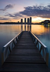 Putrajaya (Landscape Junkie) Tags: jetty malaysia putrajaya goldenhour sigma1020mm leefilters nikond90 landscapejunkie