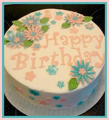 Flower cake by Nancy, Northern Utah, www.birthdaycakes4free.com
