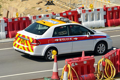 Hong Kong Police AM8713 (Howard_Pulling) Tags: camera hongkong photo airport nikon december photos picture 2014 howardpulling d5100
