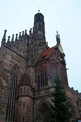 Frauenkirche [Nuremberg - 7 December 2014] (Doc. Ing.) Tags: city church germany bayern bavaria catholic nuremberg frauenkirche nrnberg 2014 mittelfranken middlefranconia