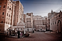 Life in Shibam, Yemen (NeSlaB ф.) Tags: poverty life old city travel people house architecture skyscraper canon town photo asia mud traditional country culture photojournalism yemen tradition society unescoworldheritage developingcountries reportage nationalgeographic alleys shibam shebam neslab