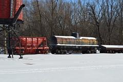 North Freedom 2-5-15 (MilePost178) Tags: railroad car train freedom box north engine trains steam depot sooline steamer ore milwaukeeroad cnw