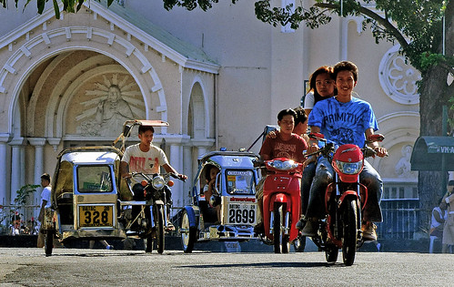 Street scene Batac. Philippines. by Bernard Spragg, on Flickr