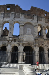 Touristy photos at the Colosseum, Rome (SpirosK photography) Tags: italy rome archaeology ancient italia colosseum ancientroman