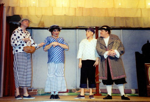 1994 Dick Whittington 55 (from left Roy Ritchie, Ros Crowe, Alex Fletcher, Kerry Morley)