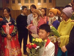Disabled North Korean singer Choe Jin Bom, Seven Dwarfs (mtrank) Tags: london disabled northkorea dula royalcollegeofmusic northkorean