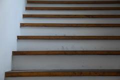 Wasserburg going up! stairs (raumoberbayern) Tags: wood brown white abstract lines stair minimal treppe braun holz wasserburg stiege robbbilder linien urbanfragments weis